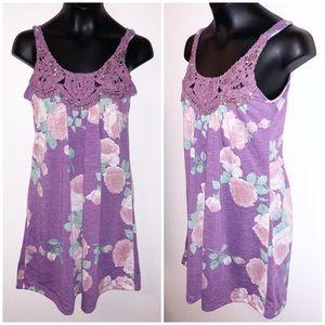 Vanity purple top
